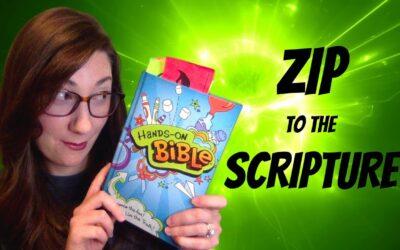 Zip to the Scripture