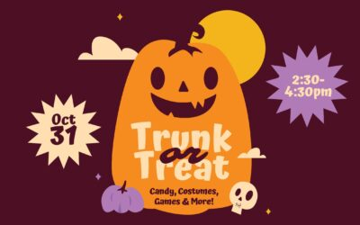 Trunk or Treat — October 31